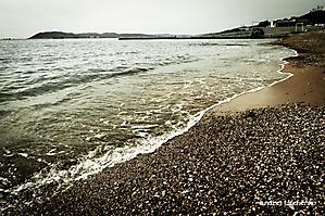 Пляж Кабардинки. Весна