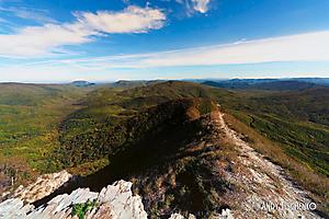 Вид с горы Папай