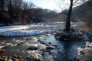 Устье реки Желобной