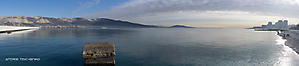 Novorossiysk. Cemes Harbour.