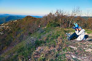 Ирина Николаевна на горе Папай